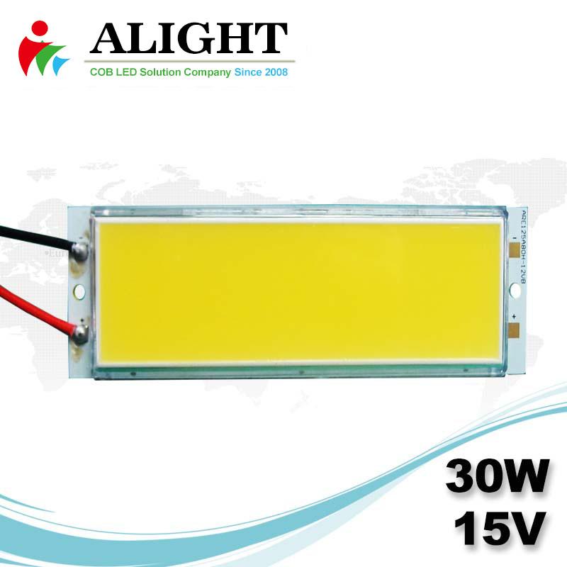 30W 15V Rectangle DC COB LED