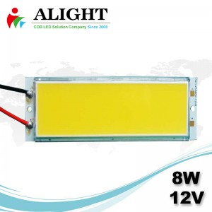 LED COB 8W 12V DC Rectangle