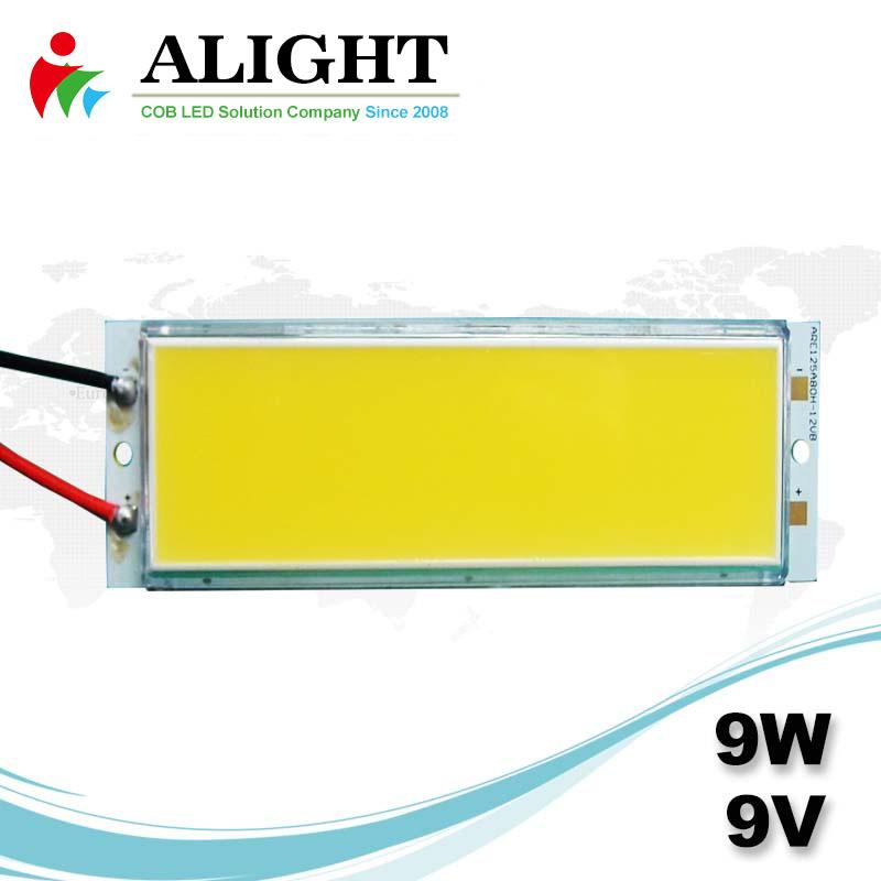 9W 9V Rectangle DC COB LED