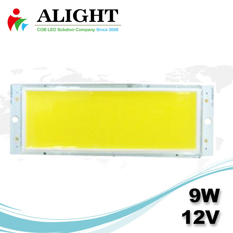 9W 12V Rectangle DC COB LED