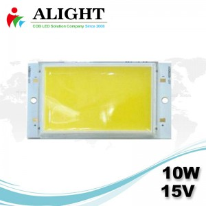 LED COB 10W 15V DC Rectangle