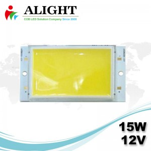 15W 12V Rectangle DC COB LED