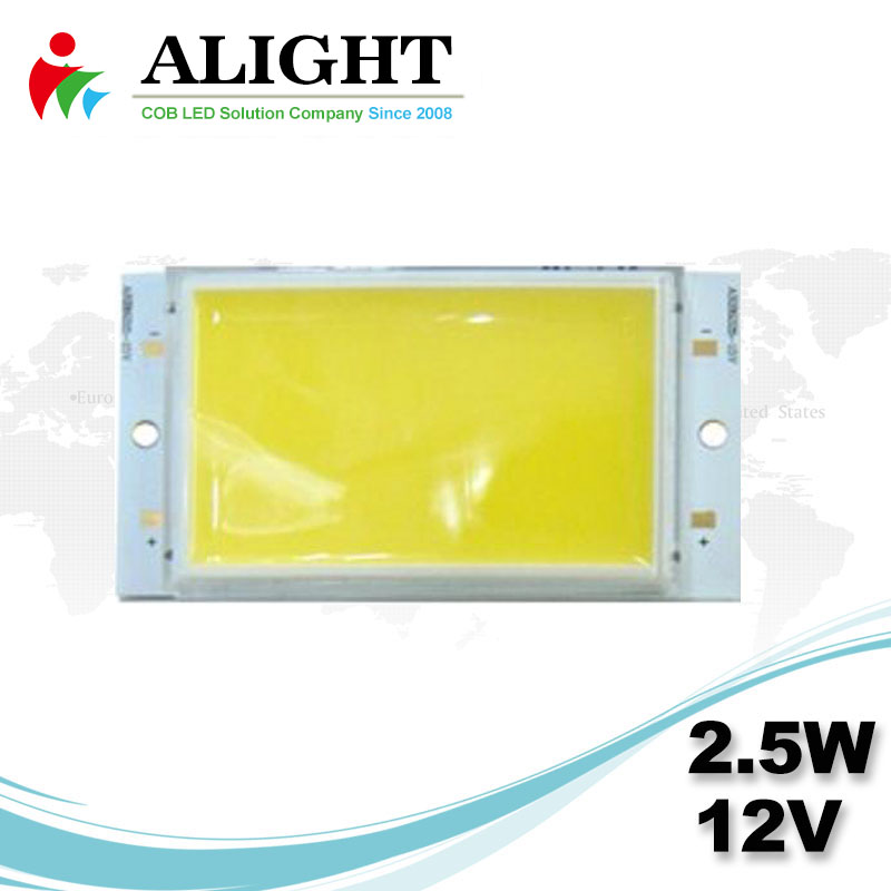 2.5W 12V Rectangle DC COB LED