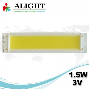 LED COB 1.5W 3V Rectangle DC