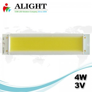 LED COB 4W 3V Rectangle DC