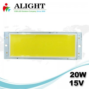 LED COB 20W 15V DC Rectangle