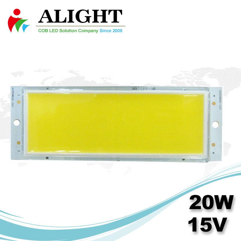 20W 15V Rectangle DC COB LED