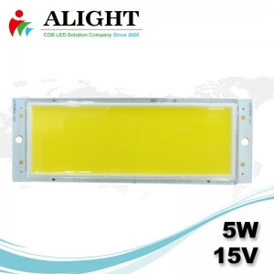 LED COB 5W 15V DC Rectangle