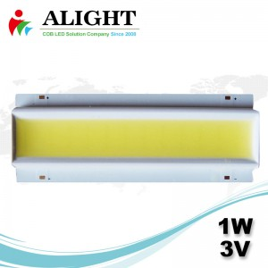 1W 3V Rectangle DC COB LED