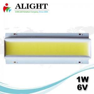 1W 6V Rectangle DC COB LED