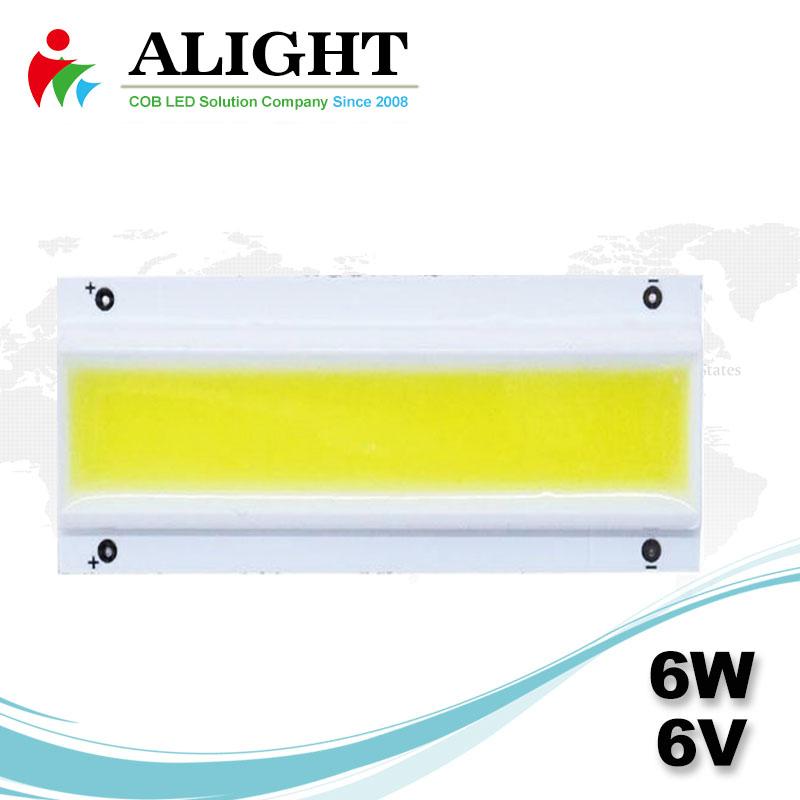 6W 6V Rectangle DC COB LED