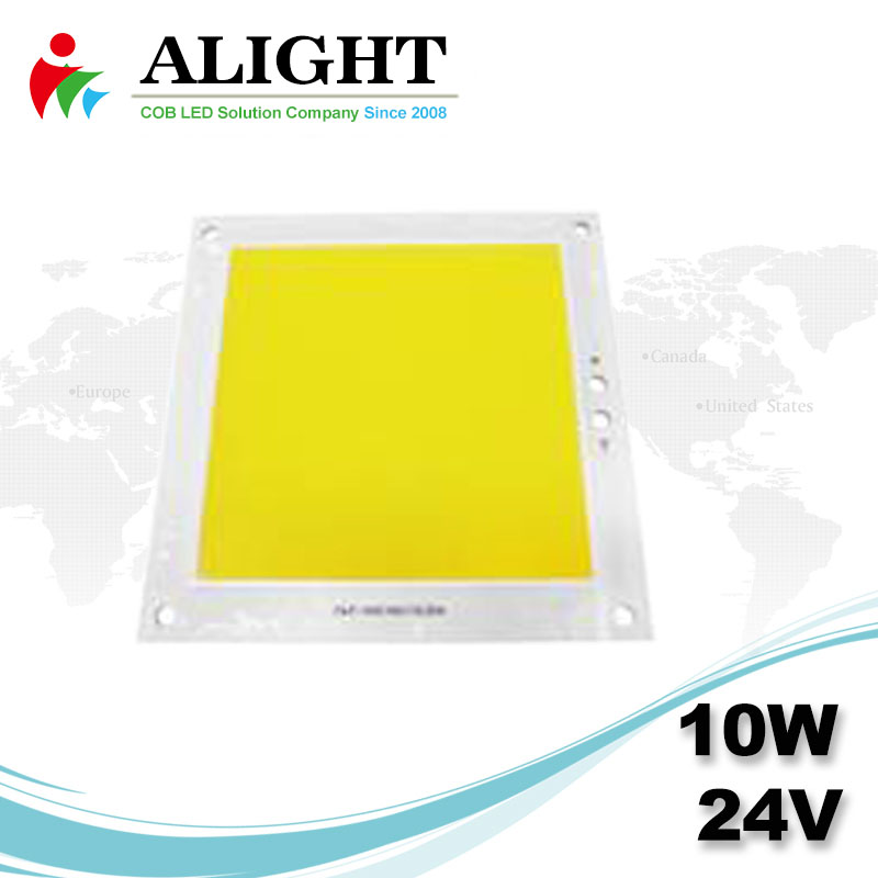10W 24V Square DC COB LED