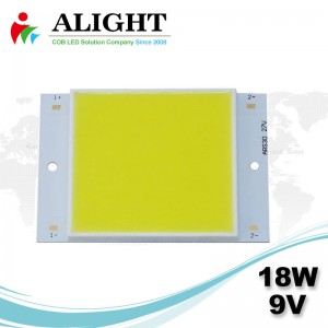 18W 9V Square DC COB LED