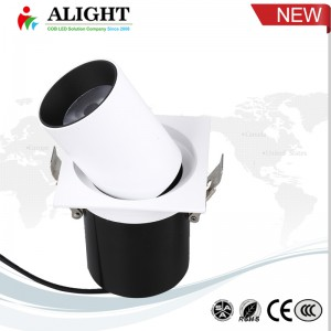 12W Adjustable LED COB Recessed Downlight  AL-5110 1S