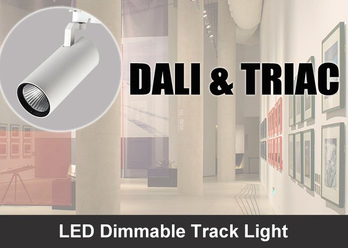Alight LED Dimmable Track Lights / DALI / TRIAC Dimming