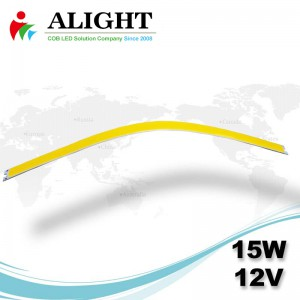 15W 12V lineare COB flessibile LED
