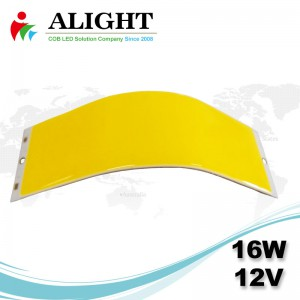 16W 12V rectángulo COB LED Flexible