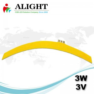 3W 3V Bendable Flexible COB-LED