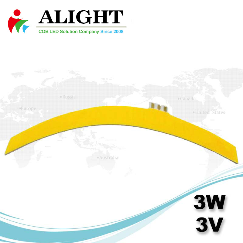 3W 3V Bendable Flexible COB LED