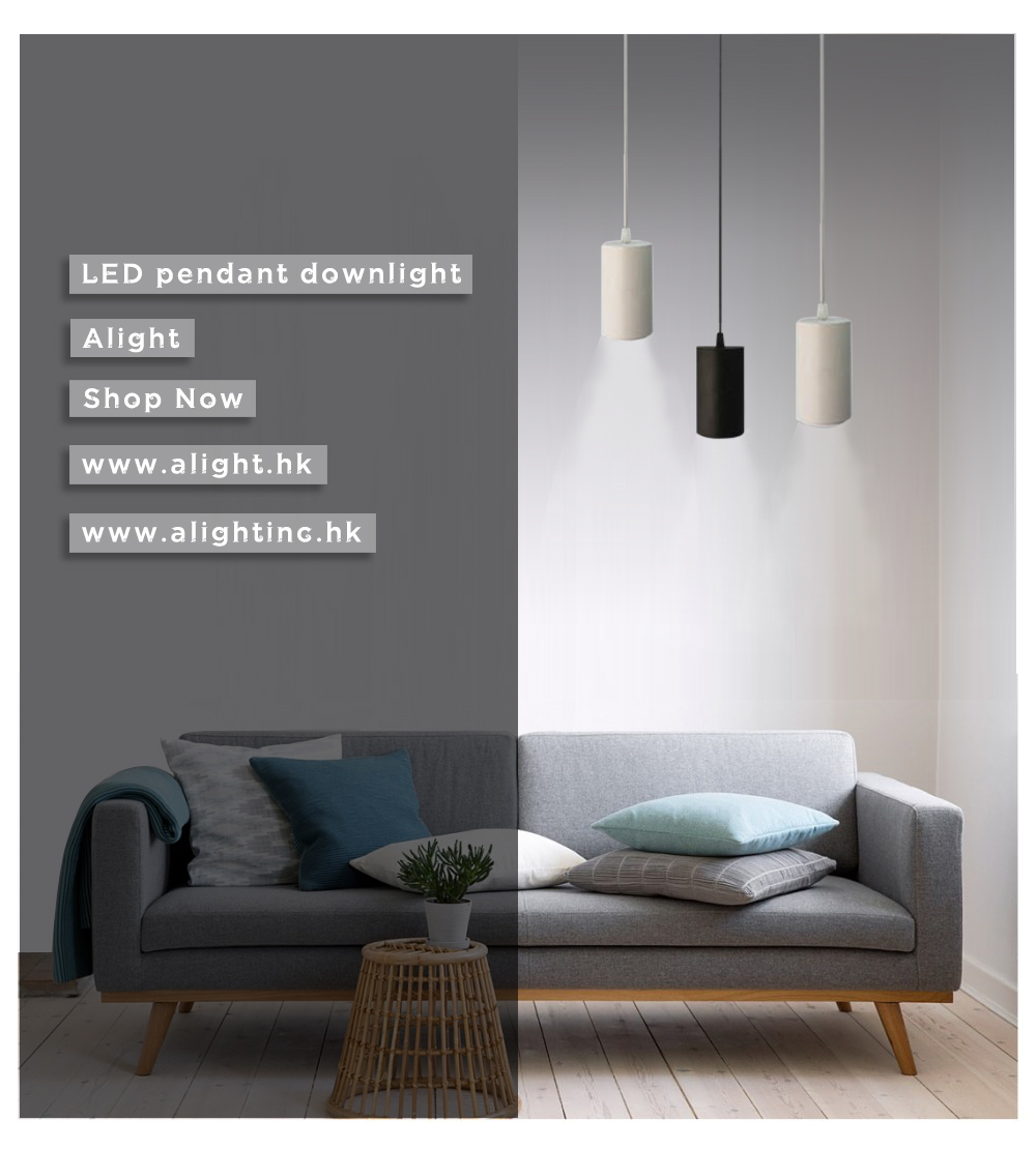 LED Pendant Lamp / Contemporary / Aluminum