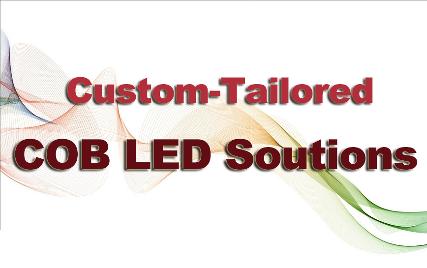 cob led solution, cob led custom, cob led application